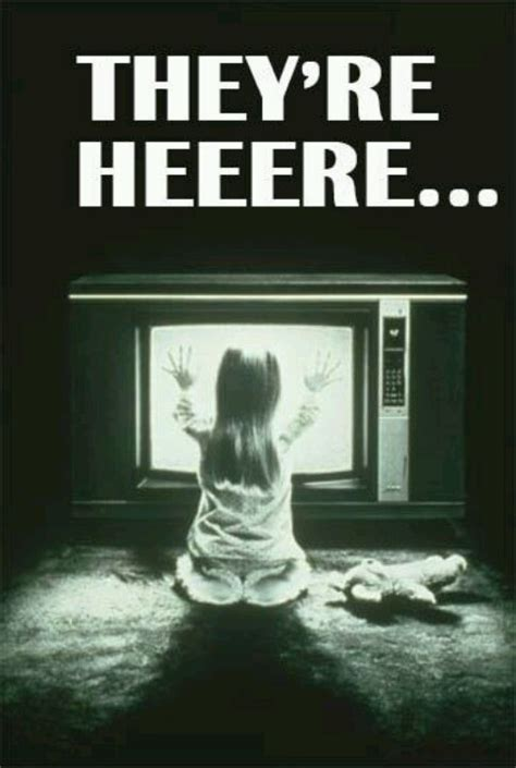 Theyre Here by Poltergeist Classic Quotes