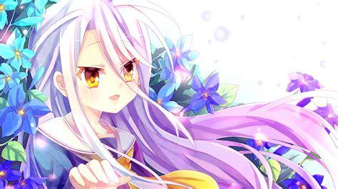 wallpaper no game no life shiro shiro anime no game no life wallpaper hd