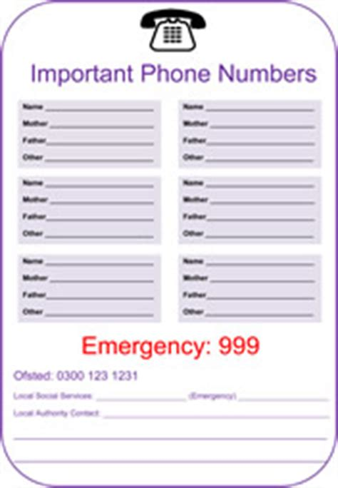 important numbers template important telephone numbers pictures to pin on