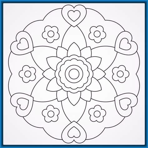 imagenes de mandalas con flores las hermosas imagenes de mandalas de flores dibujos de