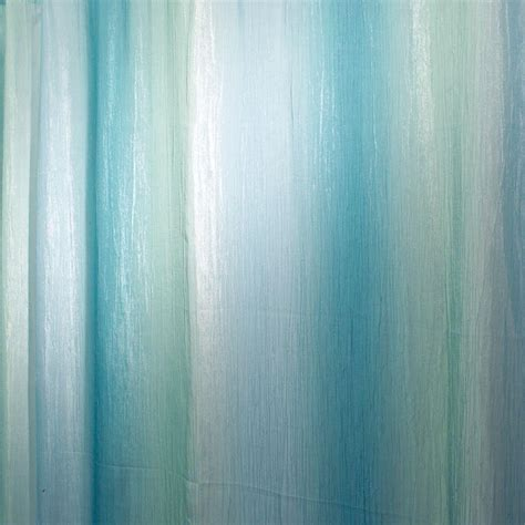 Blue Green Shower Curtain by Ombre Print Shower Curtain In Blue Green 35804 The Home