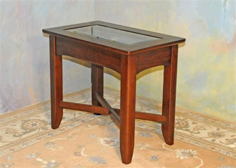 glass top curio table hardy s interiors antiques furniture store lebanon