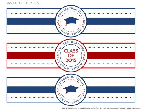 printable graduation stickers 2015 free 2015 graduation printables catch my party