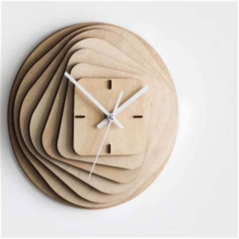 Decorative Ideas For Small Bathrooms 25 modern wall clocks that will change your view on time