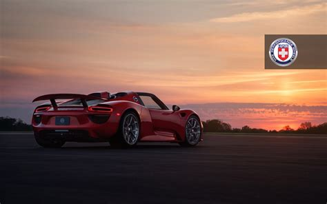 red porsche 918 this red porsche 918 spyder is as beautiful as a sunset