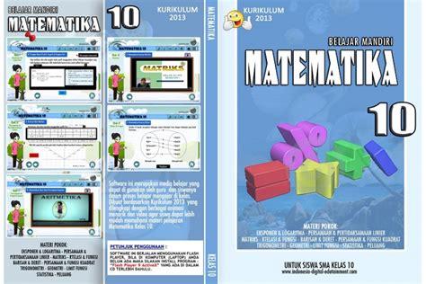 Mandiri Ekonomi Untuk Sma Kelas X Kurikulum 2013 cd belajar mandiri matematika sma kelas 10 kurikulum 2013