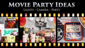 movie party ideas movie star party ideas at birthday in a box