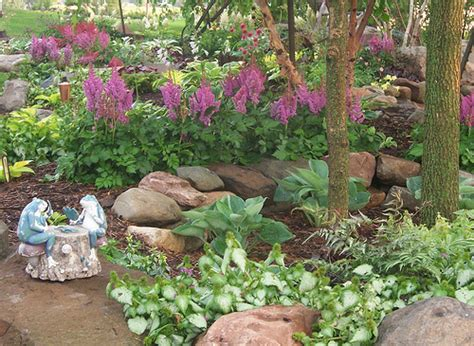 Rock Garden Plants For Shade 100 1708 Shade Garden Landscape Design Hosta Astible Lamium Landscaping Rock Garden Gardens