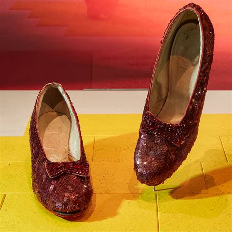 which smithsonian has ruby slippers there was more than one pair of ruby slippers in dorothy s
