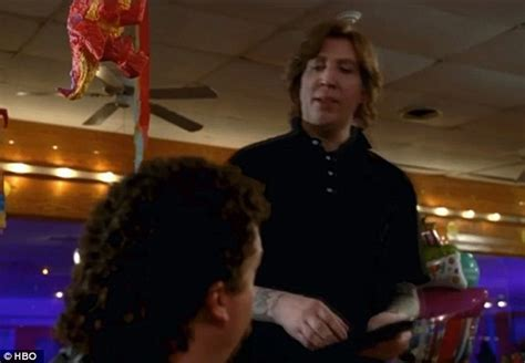brian may cameo marilyn manson goes make up free in eastbound down cameo