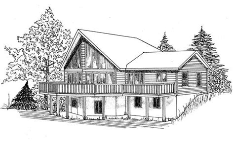 prow front country home design house plans