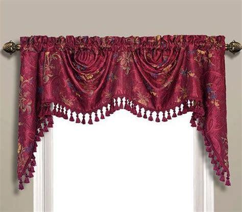 burgundy swag curtains jewel valance burgundy united curtain swag jabot curtains