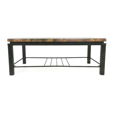 Shop Coffee Table 71 Unknown Brand Bronze Coffee Table Tables