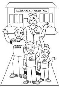 coloring page school nurse 1000 images about free gift from nurse nicole on