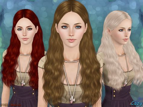 sims 3 resource hair cazy s marion hairstyle set