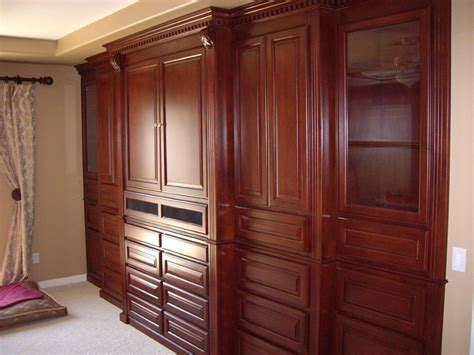 Cabinets For Bedroom by Murphy Beds And Bedroom Cabinets Woodwork Creations