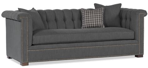 Grey Tufted Back Sofa Tufted Back Sofa