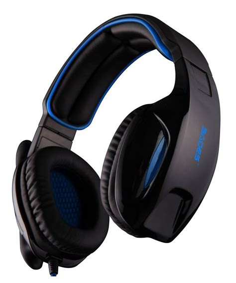 Sades Snuk Usb Gaming Headset With 7 1 Surround Stereo Sound data media sades gaming headset snuk usb 7 1ch με 40mm