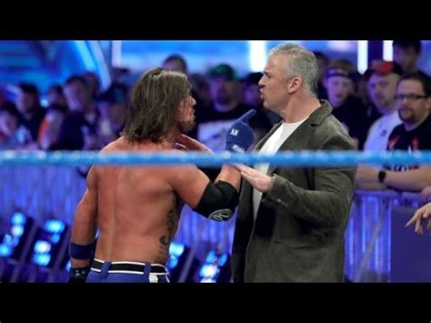 Watch Wwe Smackdown Live 28 03 2017 Aj Styles Vs Shane Mcmahon Wwe Smackdown Live 28 03 2017 Hd Youtube