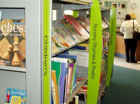 Library Shelf Signs local authority signage create bristol uk bath
