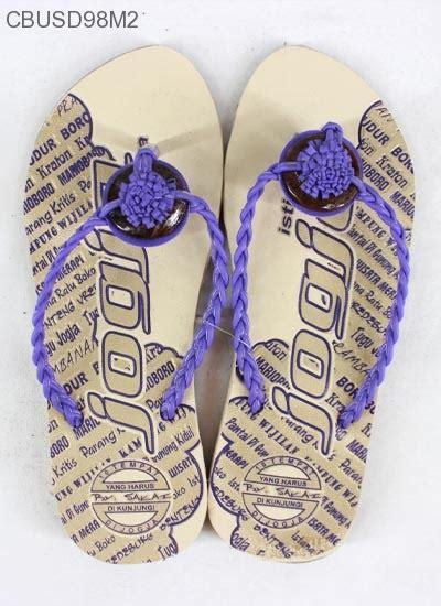 Baju Atasan Tali Kepang sandal tali kepang bathok sandal etnik murah batikunik