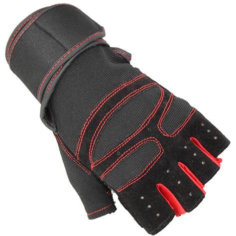 Sarung Tangan Gloves Half Finger Black Sepeda 1 sarung tangan motor half finger size l black