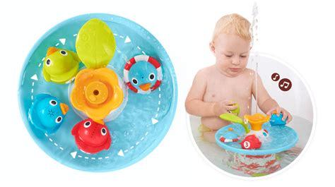 bathtub toys for toddlers musical duck race baby bath toys yookidoo