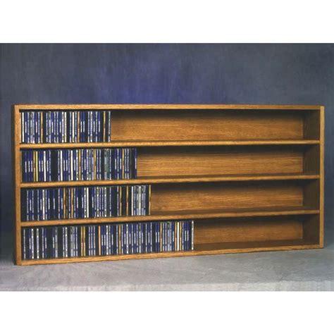 Cd Rack Shelf by Wood Shed Solid Oak Wall Mount Cd Racks Tws 403 4