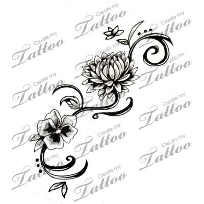 november flower tattoo chrysanthemum i d add a and a