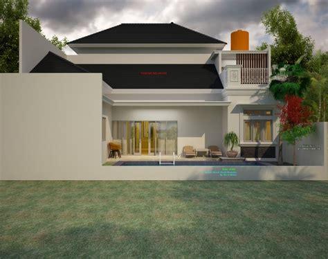 rumah  lantai mewah klasik ukuran    meter jasa desain rumah