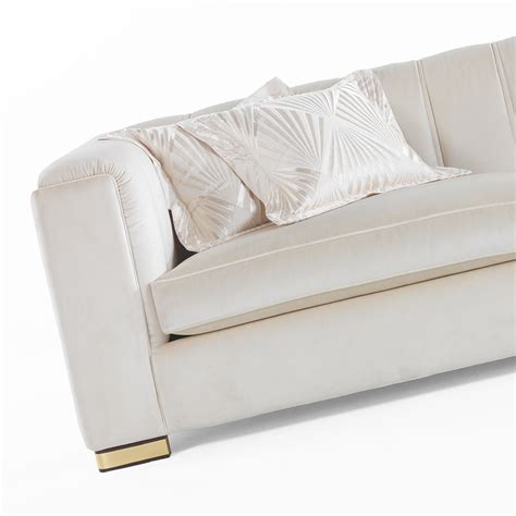 High End Designer Velvet Luxury 3 Seater Sofa Juliettes High End Sofa