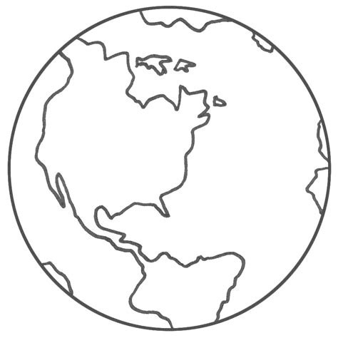 coloring page of a globe free printable planet coloring pages for kids