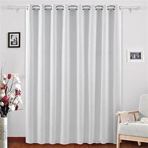 Width Of Curtains For Windows Save 6 Deconovo Blackout Drape Wide Width Grommet Curtains Bedroom Curtains For Windows 100