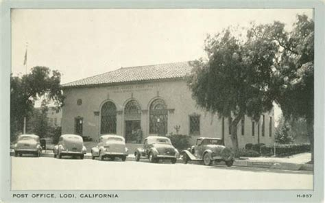 Manteca Post Office Hours by Postcards From San Joaquin County Ca