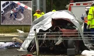 moesha dies in car crash and child killed in car crash on princes highway daily mail