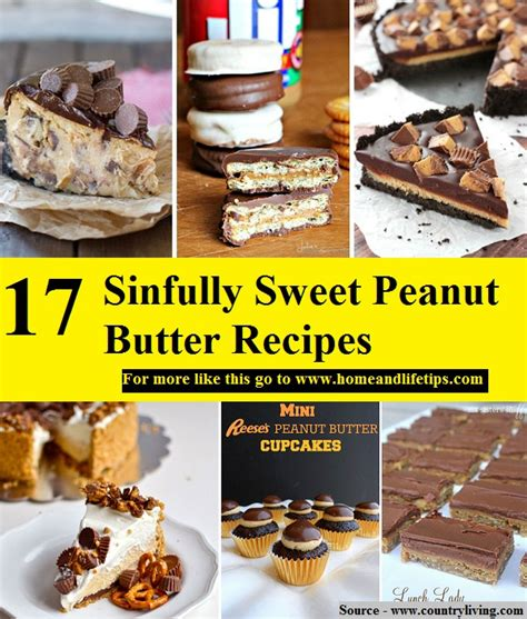 17 sinfully sweet peanut butter recipes home and life tips
