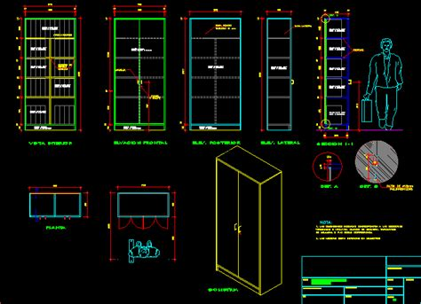 metal cabinet dwg section  autocad designs cad