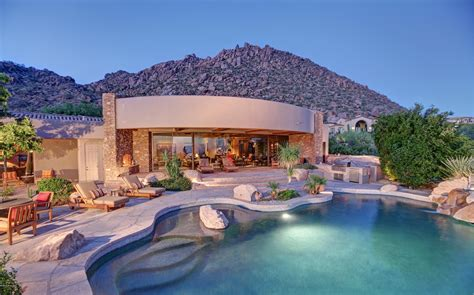 scottsdale luxury homes real estate design bild