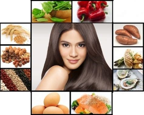 Top 12 Foods For Beautiful Hair by 12 Healthy Foods For Beautiful Hair