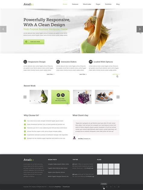 avada theme video slider wordpress themes for business websites vn web group