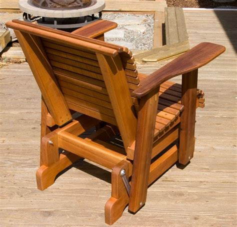 glider chair plans