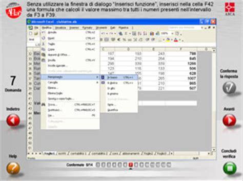 test ecdl modulo 3 word 2010 simulatlas
