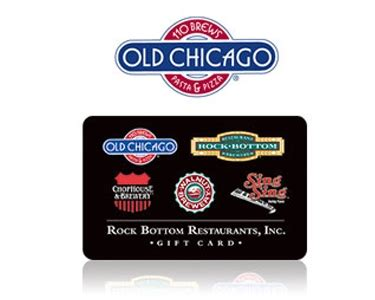 Chicago Gift Cards - 50 old chicago gift card quibids com