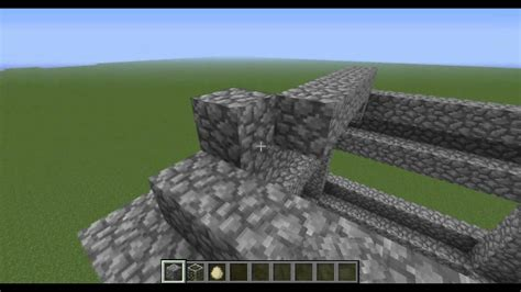 minecraft cool house tutorial minecraft building a cool house tutorial cobblestone house youtube