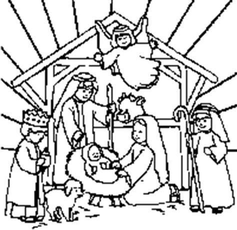 pictures of baby jesus in the manger clipart best