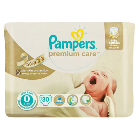 pers premium care new baby size 0 30 disposable nappies