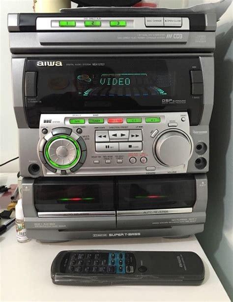 aiwa hifi sound system audio stereo audio stereo