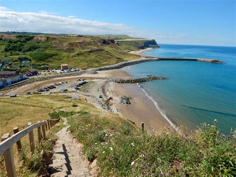 skinningrove beach yorkshire coast england  kevin gray