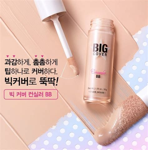 Etude Big Cover Concealer Bb Spf 50pa etude house big cover concealer bb korean makeup malaysia