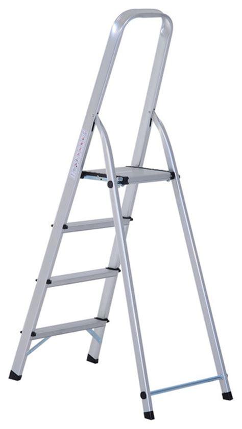 4 Step Stool Ladder by Homcom 4 Step Folding Aluminum Step Stool Ladder Ladders